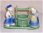 Click here to enlarge image and see more about item TE0504: Shawnee Wishing Well � Dutch People - Planter
