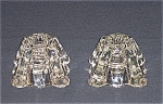 Inkwell Style Candle Block � Pair
