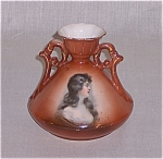 Click here to enlarge image and see more about item TE0568: Austrian Portrait Vase	# 2