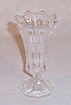Click to view larger image of Vase – Crystal Pattern Glass (Image1)
