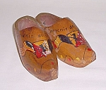 Click here to enlarge image and see more about item TE0655: Souvenir – Wood Shoes – Belgium