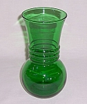 Anchor Hocking – Forest Green Vase - A