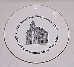 Click to view larger image of  Troy Ohio Bicentennial - Collector Plate (Image1)