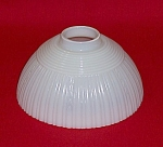 Click to view larger image of Vintage Iridescent Glass Lampshade, Ribbed (Image1)