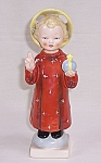 "Click here to enlarge image and see more about item TE0776: Hummel, Goebel ""Holy Child with Halo"" TMK-2"