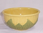 Click here to enlarge image and see more about item TE0779: Shawnee �CORN KING� Mixing Bowl #6