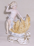 Vintage Cherub on Shell