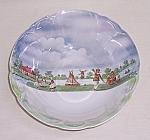 Click to view larger image of Vintage German Lusterware Bowl – Playing Children (Image1)