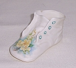 Fine Porcelain Tiny Baby Shoe
