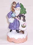 Click to view larger image of ENESCO, �The Santa Claus Shoppe� Music Box, �O� Tannenbaum� (Image1)