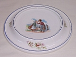 Children's Dishes – Dated 1905 – The Baby Plate