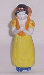 Click here to enlarge image and see more about item TE1008: Borgfeldt, Bisque Walt Disney�s �SNOW WHITE�- 4 �� c. 1937