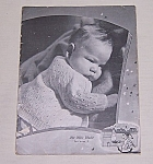 Click to view larger image of Undated  1940's Baby Book – Knitting/ Crocheted Baby Styles, For New Babies (Image1)