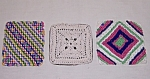 Three Square Pot Holders