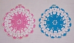 Click to view larger image of Two Pretty Potholders	 (Image1)