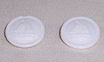 Vintage Sewing – Milk Glass Buttons