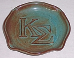 Click here to enlarge image and see more about item TE1226: Nicodemus Pottery � Kappa Sigma Tray