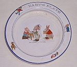 Click here to enlarge image and see more about item TE1237: Wellsville Baby Feeding Plate