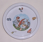 Click here to enlarge image and see more about item TE1238: Baby Feeding Plate, Made in Germany