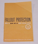 1961 Civil Defense Information Booklet � Robert McNamara, Secretary of Defense
