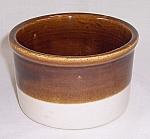 Click to view larger image of Brown & Beige Crock – Small (Image1)