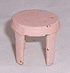 Kilgore Mfg. Co.- Dollhouse Toy – Cast Iron - Stool