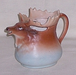 Click here to enlarge image and see more about item TE1424: Austrian Moose Creamer