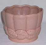 Red Wing – Art Pottery – # 01403 Leaf Vase / Planter/ Jardiniere