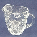 Anchor Hocking Glass Co. -  Early American Prescut � Creamer