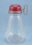 Click here to enlarge image and see more about item TE1594: Kitchen Collectible �Nut Chopper - Grinder � Red Lid