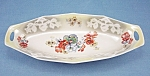 Click here to enlarge image and see more about item TE1659: Germany Floral Celery Dish / Tray