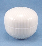 Click here to enlarge image and see more about item TE1662: Porcelain Powder Box / Jar