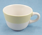 Click to view larger image of Mayer China – Cup / Yellow Rim, Restaurant Ware (Image1)
