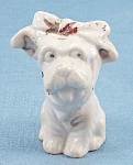 Made In Japan � Dog With Bow, Tongue  Showing