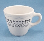 Syracuse China - Black Lace - 1972 - Restaurant Ware