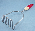 Red Handle Ricer/Masher – Ekco- Eterna - Vintage Kitchen Collectibles