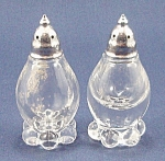 Imperial Candlewick � Salt & Pepper Shakers, Metal Lids