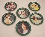 Click here to enlarge image and see more about item TE1788: Advertising - Coke / Coca-Cola / Coaster Set 1983	/ Ohio Art