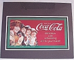 Click to view larger image of Advertising - Coke / Coca-Cola / 1993 Sign	 (Image1)