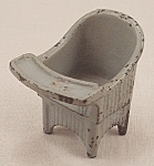 Kilgore Toy � Cast Iron �Sally Ann� Nursery Chair - Gray
