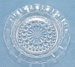 Click here to enlarge image and see more about item TE1845: Depression Glass � Ashtray/ Coaster