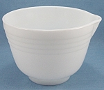 Click to view larger image of Pyrex – Hamilton Beach – Racine, Wisconsin – Batter / Mixing /  Bowl (Image1)