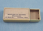 Click to view larger image of Vintage Medicine Box � London, Ohio (Image1)