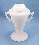 Click to view larger image of Westmoreland – Victorian Urn – Sugar & Lid – Mustard Container (Image1)
