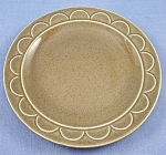 Click here to enlarge image and see more about item TE2069: Granada Green � Homer Laughlin � Sheffield � Bread  Plate