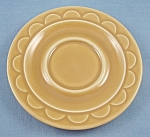 Granada Harvest Gold � Homer Laughlin � Sheffield � Saucer