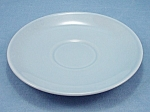 Click to view larger image of TAYLOR SMTH & TAYLOR- LuRay  / Lu-Ray Pastel Saucer- Blue (Image1)