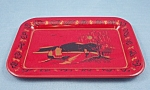 Click here to enlarge image and see more about item TE2136: Tip Tray – Red & Black