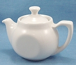 Click to view larger image of Hall U.S.A. � Flat- Sided - Individual Teapot (Image1)