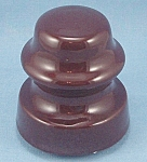 Vintage -  Brown Crock -   Insulator
